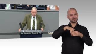 Gebärdensprachvideo: Chemnitz dominiert Generalaussprache des Bundestages