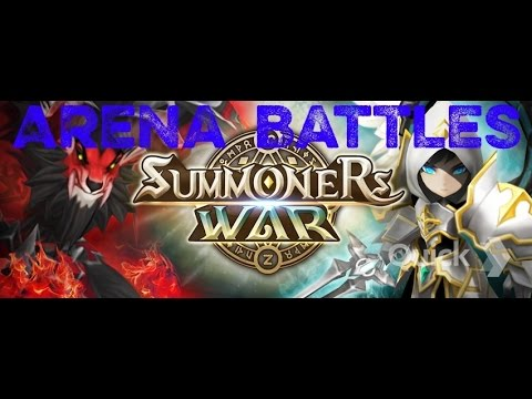 Summoners War: Sky Arena- Fire Dragon Knight in Arena (Laika)