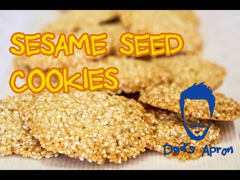 Sesame Seed Cookies - How To Make - Dad's Apron