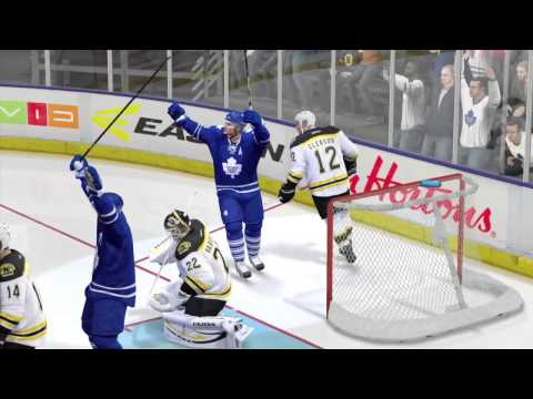 NHL 14 Bloopers #4 (Goalie Hits, Own Goals, Face Goal)