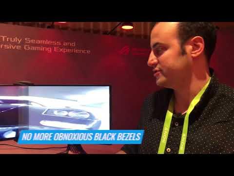 This Asus Gadget Makes Three Monitors Look Like One