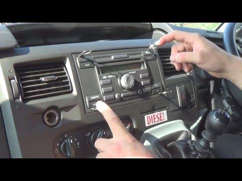 Radio Removal Ford Transit (2006-2013) | JustSimpleTips