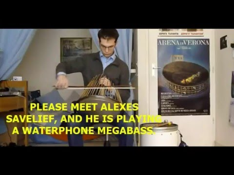 TRUMPET SOUNDS MADE BY A WATERPHONE MEGABASS..YOU'VE BEEN HOAXED.