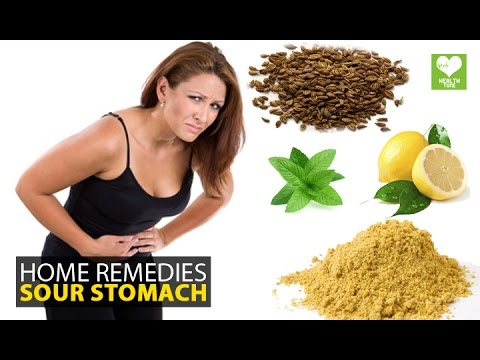 Instant Relief From Sour Stomach - Home Remedies | Health Education