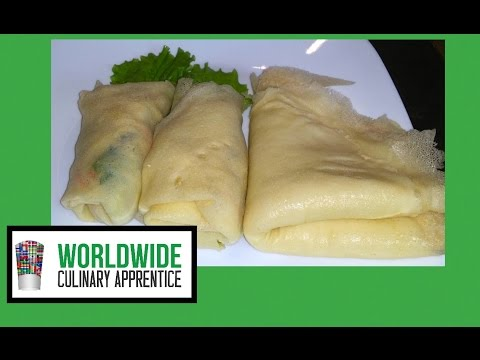 Fresh Spring roll wrapper - Gluten Free Crepes