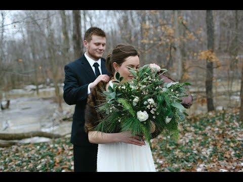 Ohio Winter Barn Wedding - Jordan + Adam 1.16.16