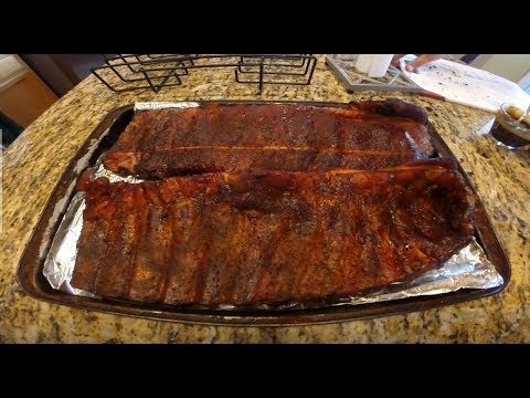 How-to prepare and cook Pork Spare Ribs on an outdoor smoker
