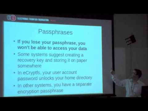 Disk Encryption For Your Laptop