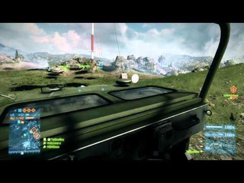 Battlefield 3: Jeep + C4 = BOOM