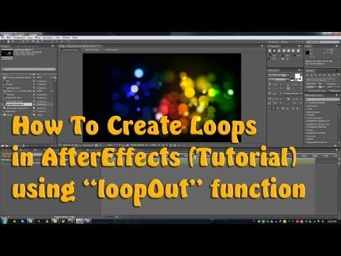 How To Loop Animations - Adobe After Effects Tutorial
