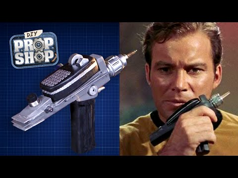 Build Your Own Star Trek Phaser! - DIY Prop Shop