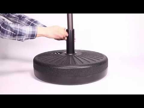 How to install Grand Patio Umbrella Base GP-UM-Base-001