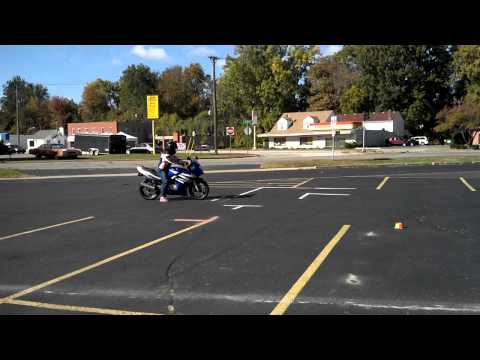 Michigan motorcycle road skills test