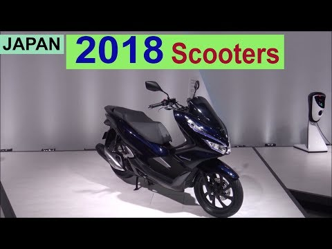 The 2018 Japanese Scooters - Show Room JAPAN