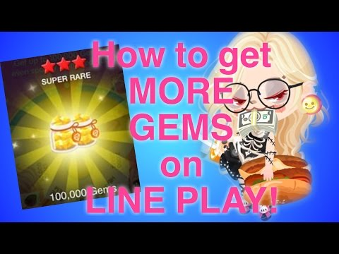 How to get more LINE PLAY GEMS! 2016
