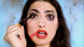 Doing My Makeup In An Earthquake!