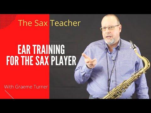 Saxophone teacher - Ear training - a quick overview