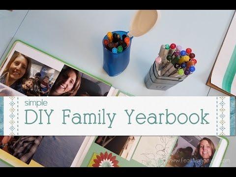 DIY Family Yearbook