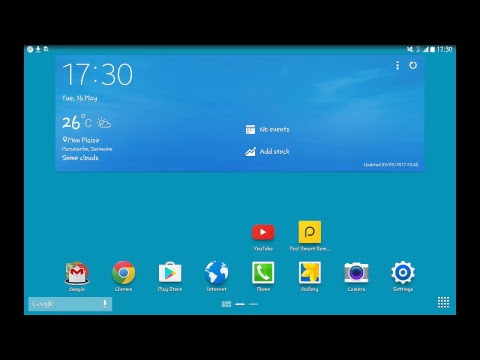 Testing SCR Broadcaster app on Samsung Galaxy Tab Pro 10.1