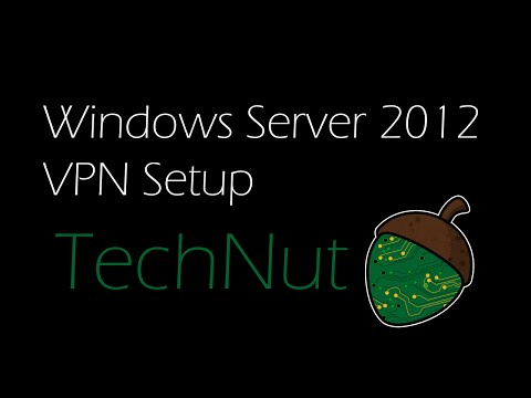 Windows Server 2012: VPN Setup