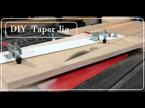 DIY Taper Jig for any table saw