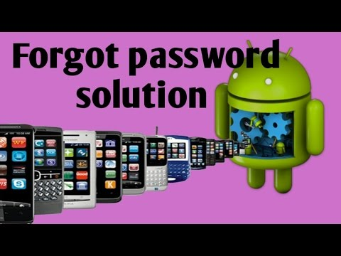 Forgot password Lava mobile
