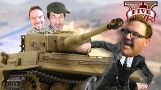 it was MY TANK WADE!! | GTA V #7