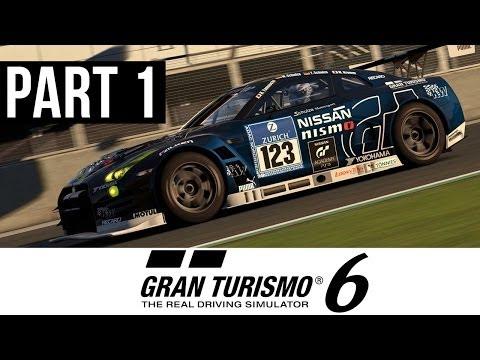 Gran Turismo 6 Gameplay Walkthrough Part 1 - My First Car (PS3 Career Mode GT6 Gameplay)