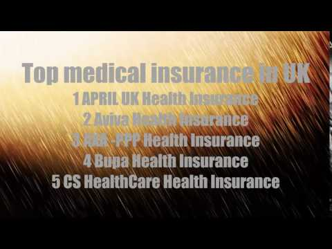 Top 5 medical insurance companies in UK