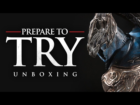 Prepare To Try: Unboxing Artorias of the Abyss from First 4 Figures