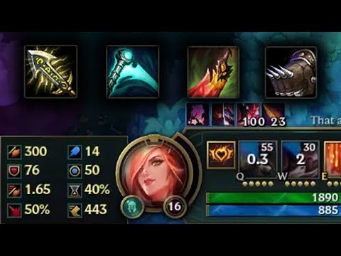 7# INVASION INSANE OP MISS FORTUNE 40% CD BUILD WITH LIFESTEAL!