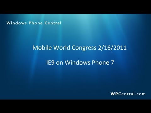 HTML5 on IE9 for Windows Phone (WPCentral.com)