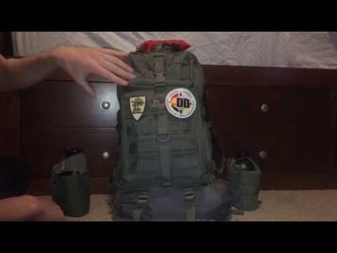 Summer Overnight Pack Loadout with the Maxpedition Falcon lll (Viewer Request)