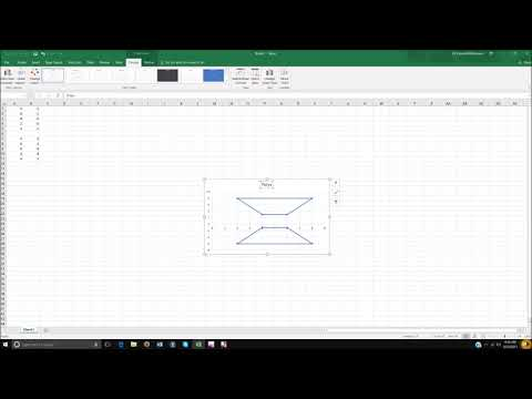 Excel - Geometry & insert shapes and label graph