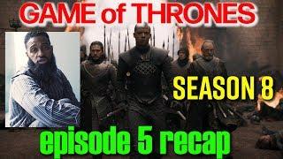 Game of Thrones Season 8 Episode 5 Reaction   Bearded Daddy Vlog Life Ep 92