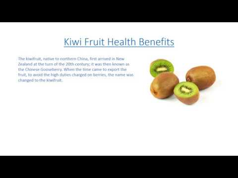Kiwi Fruit Benefits, Kiwi Fruit Nutrition Facts, KiwiFruit Health Benefits
