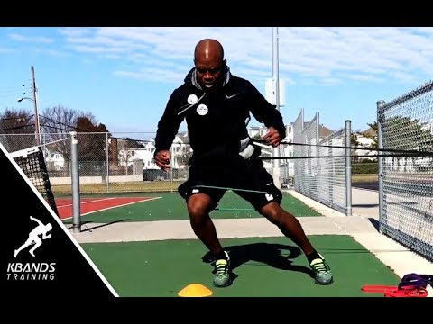 Tennis Drills to Increase Court Speed | Tennis Leg Resistance Bands
