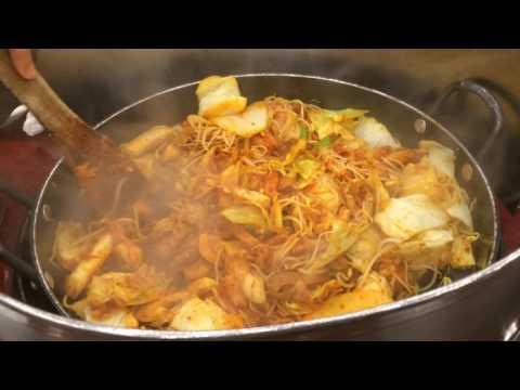 Enjoy Chicken Galbi at Yoogane Restaurant, Seoul, South Korea