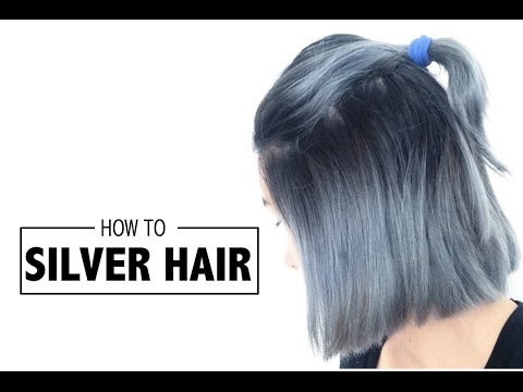 HOW TO | SILVER HAIR (OMBRE)