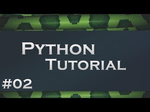 Python #2 - Variablen und Datentypen