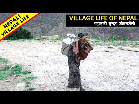 Rural Life of Nepal    Village Life In Nepal