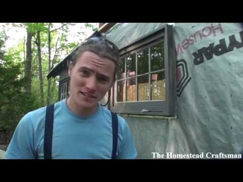 Simple Exterior Window Trim - Tiny House Project How To