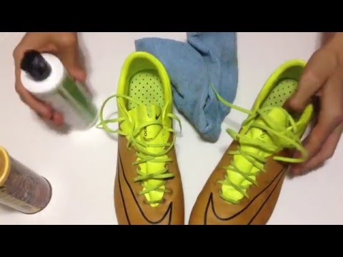 How to keep leather cleats (boots) clean