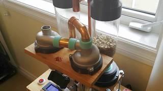 Fluid bed coffee roaster TOPER OPTIC 1 - PakVim net HD