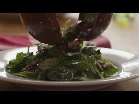 How to Make Cranberry Spinach Salad | Allrecipes.com
