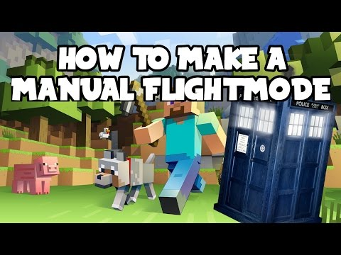 How to make a TARDIS | Minecraft | Manual Flight Mode