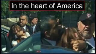 Erdogan Bodyguards Attack Protesters At Turkish Embassy - Washington DC  , 16/5/2017