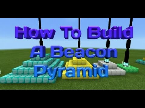 Minecraft Tutorial:How To Build A Beacon Pyramid
