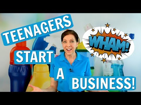 Tips for Teenagers Starting a Cleaning Business