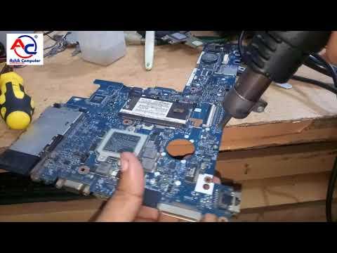 Repair Hp d Laptop Motherboard no power | elitebook2540p